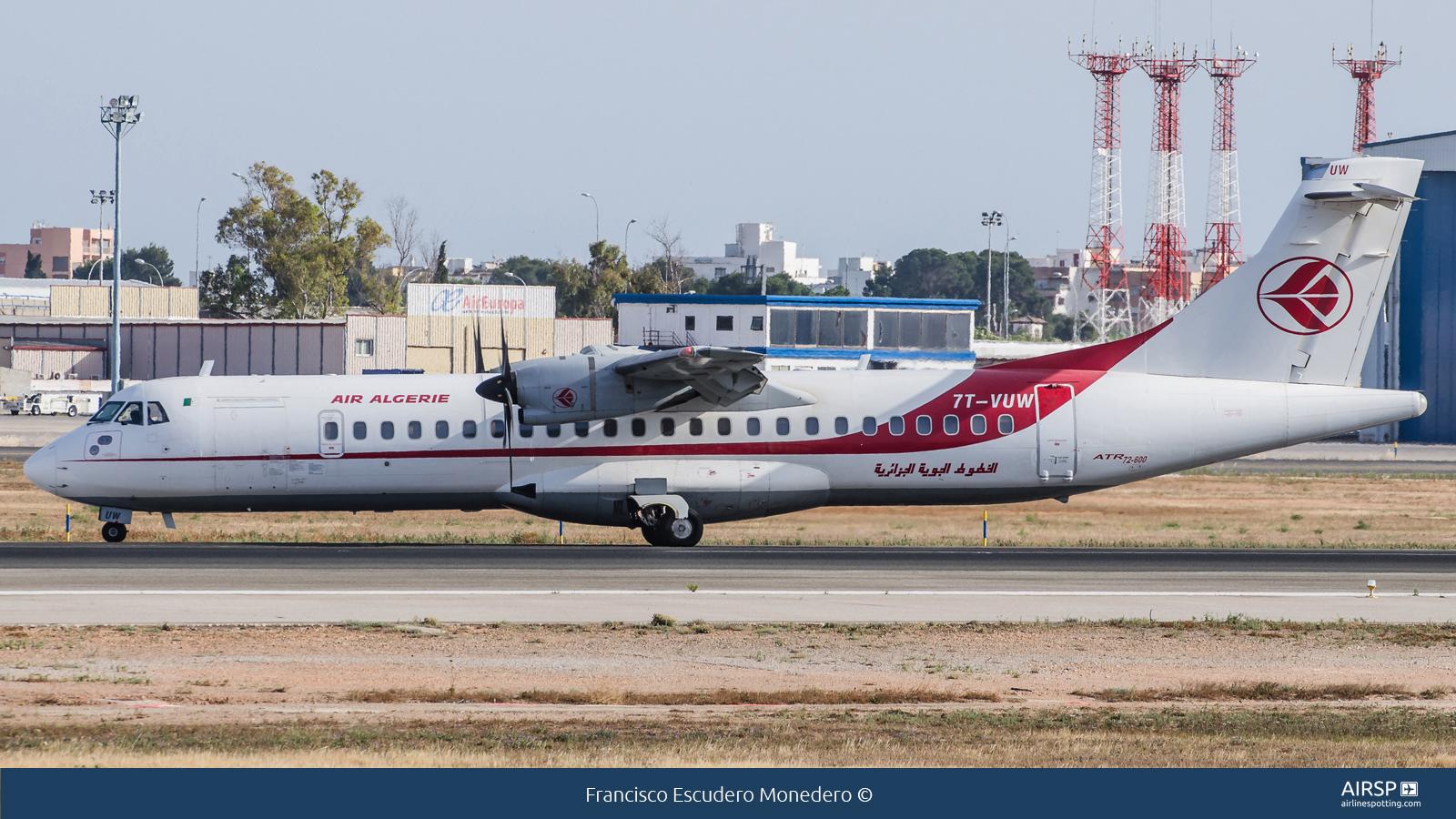 Air Algerie  ATR-72  7T-VUW