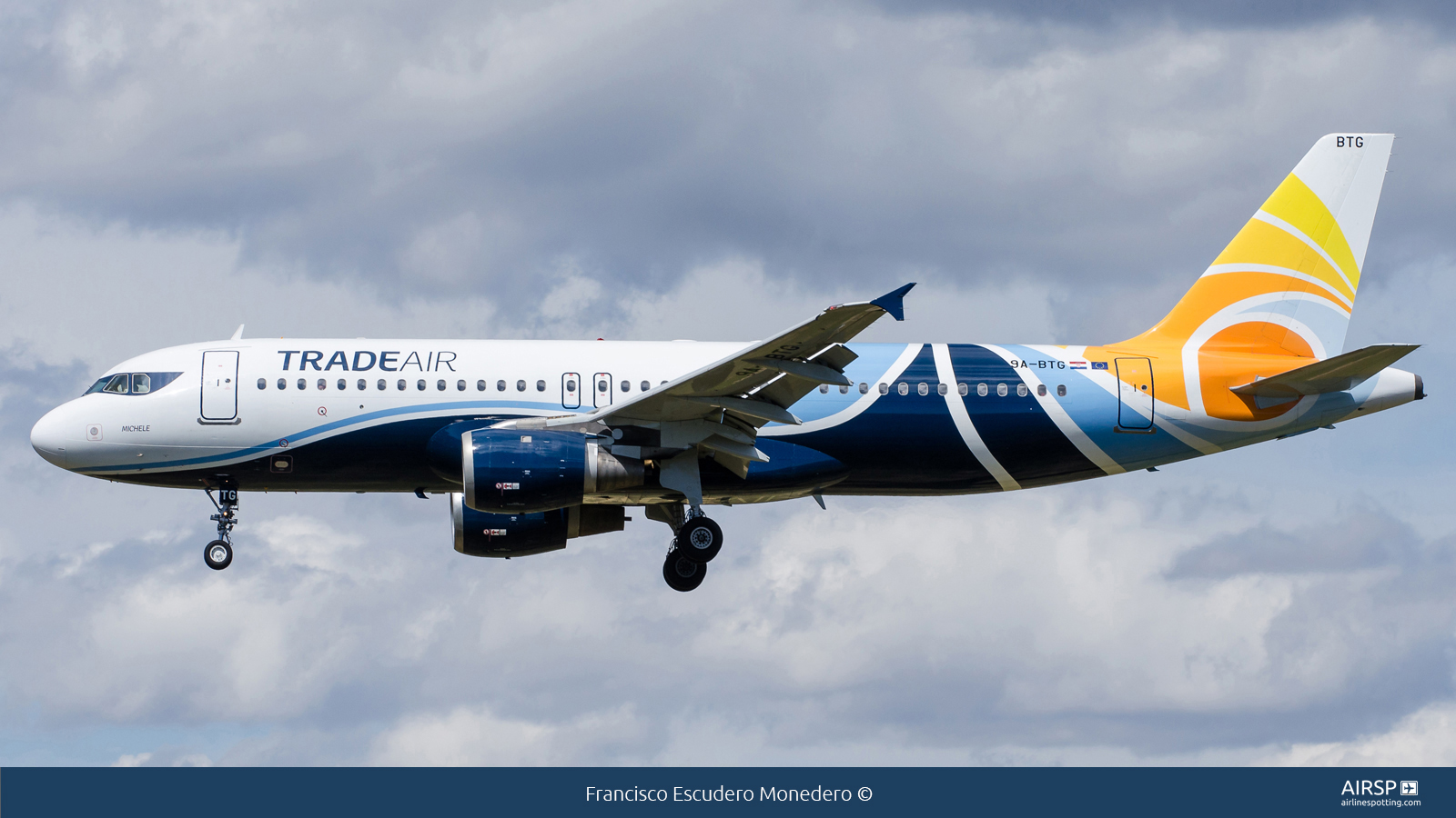 Trade Air  Airbus A320  9A-BTG