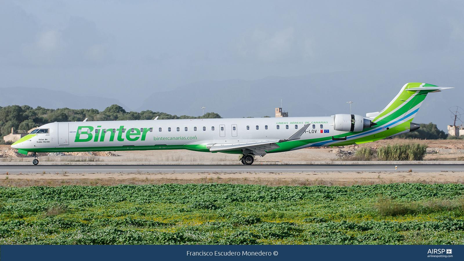 Binter Canarias  Bombardier CRJ-1000  9H-LOV