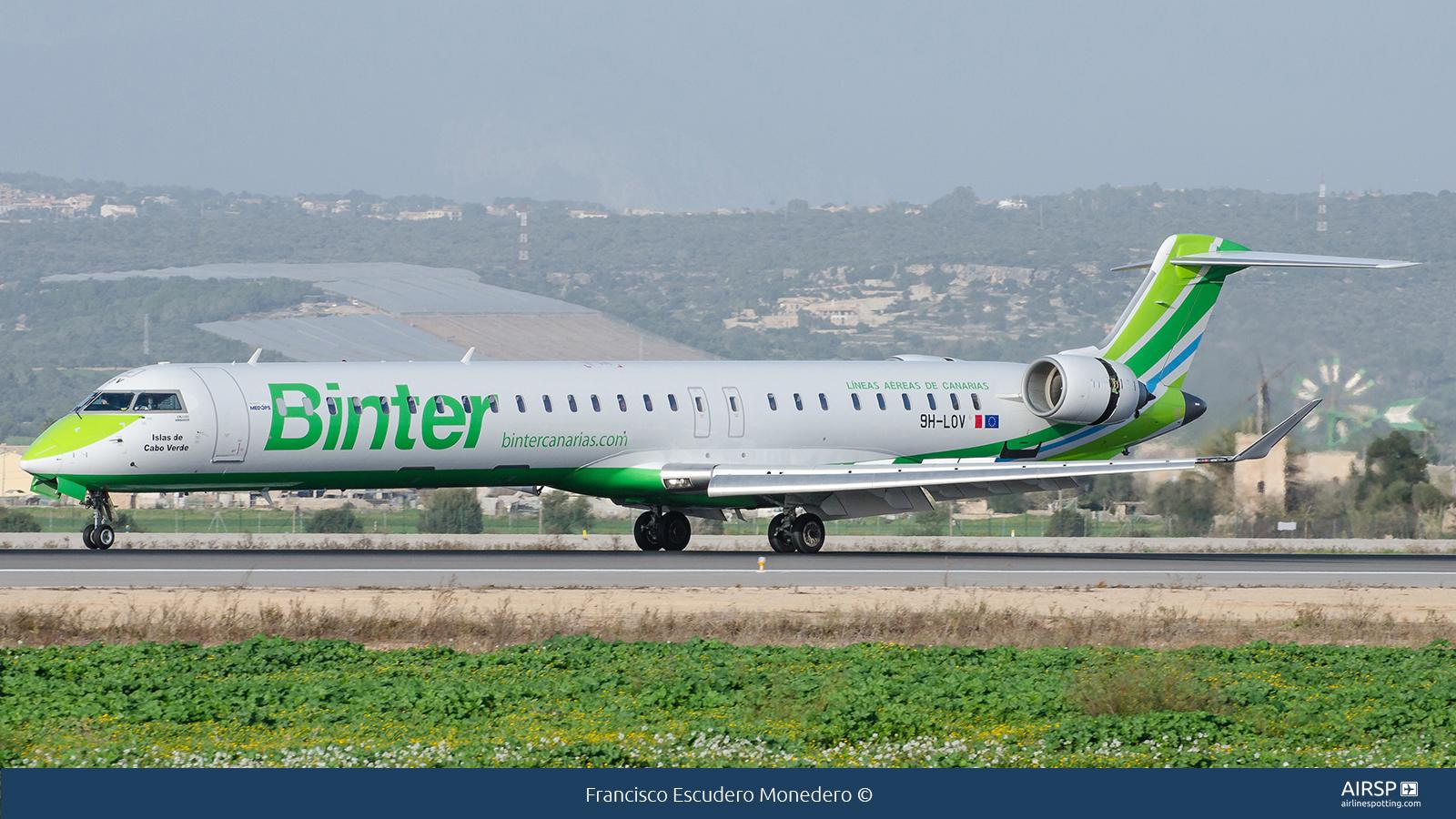 Binter Canarias  Mitsubishi CRJ-1000  9H-LOV