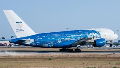 Hi Fly Airbus A380-800
