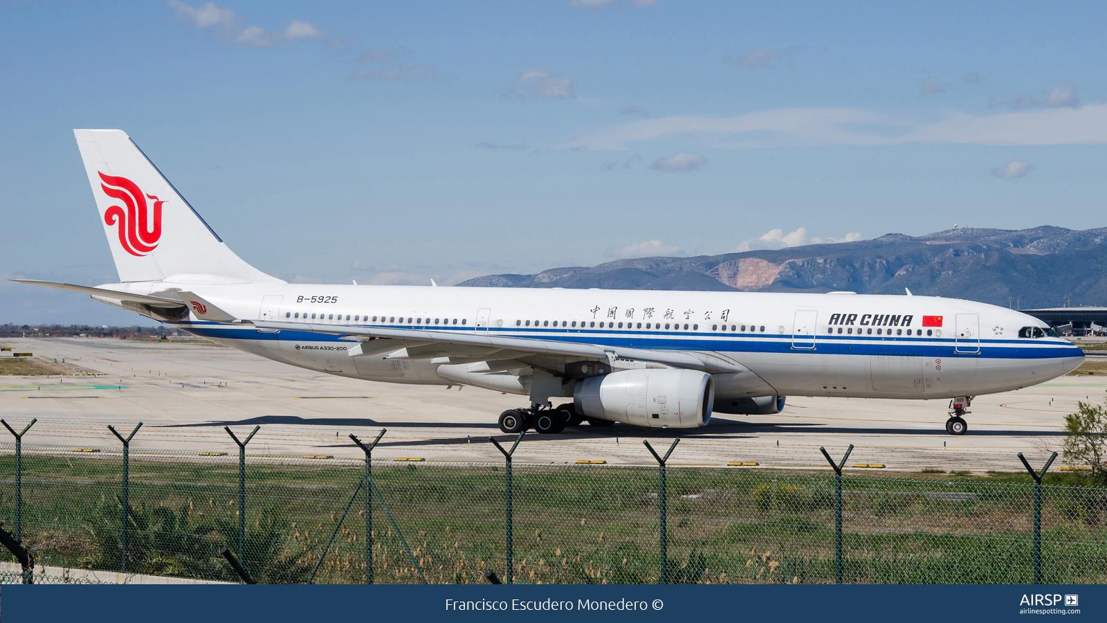 Air China  Airbus A330-200  B-5925