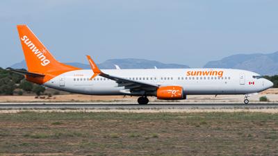 Sunwing Airlines Boeing 737-800