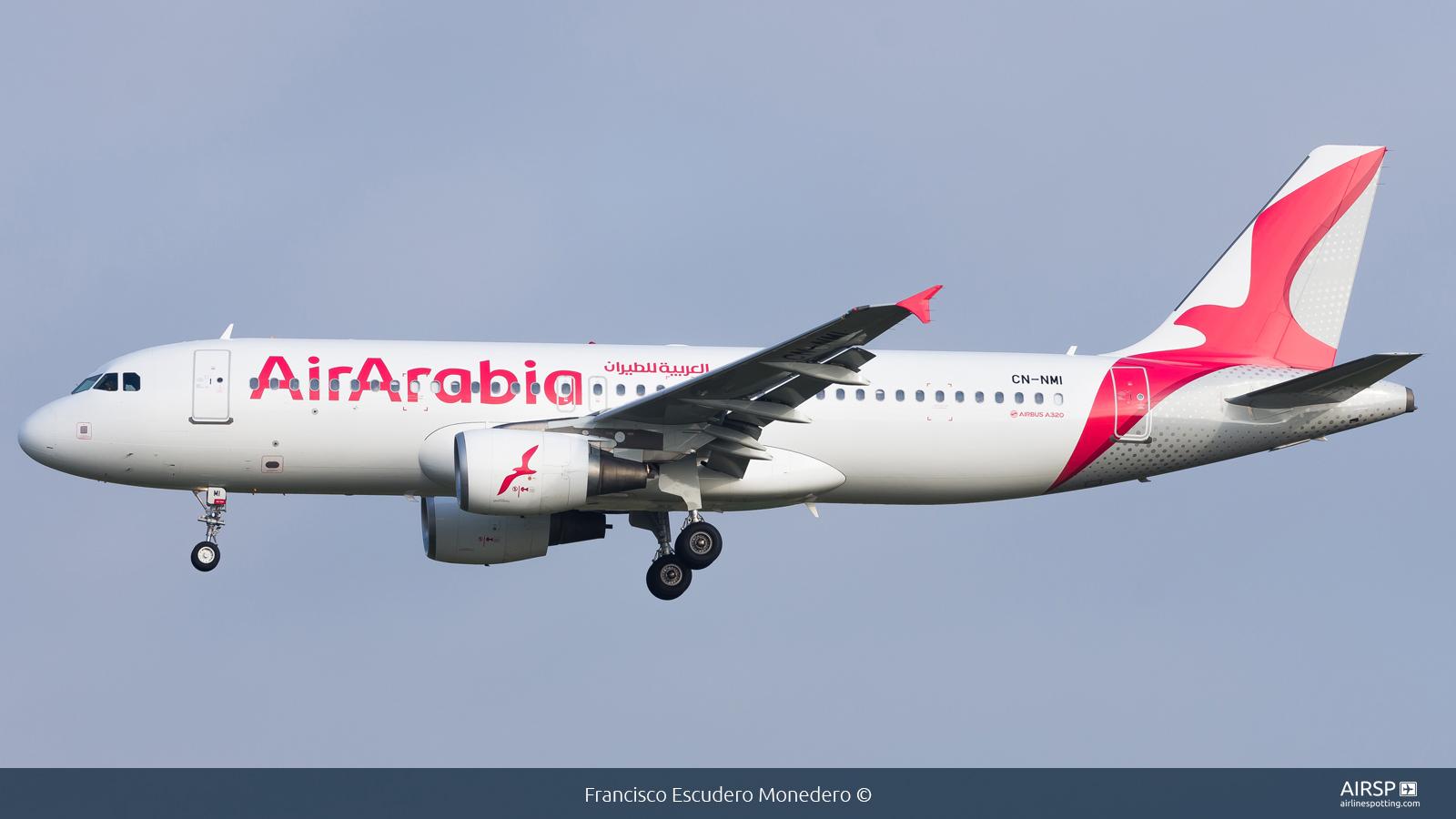 Air Arabia  Airbus A320  CN-NMI