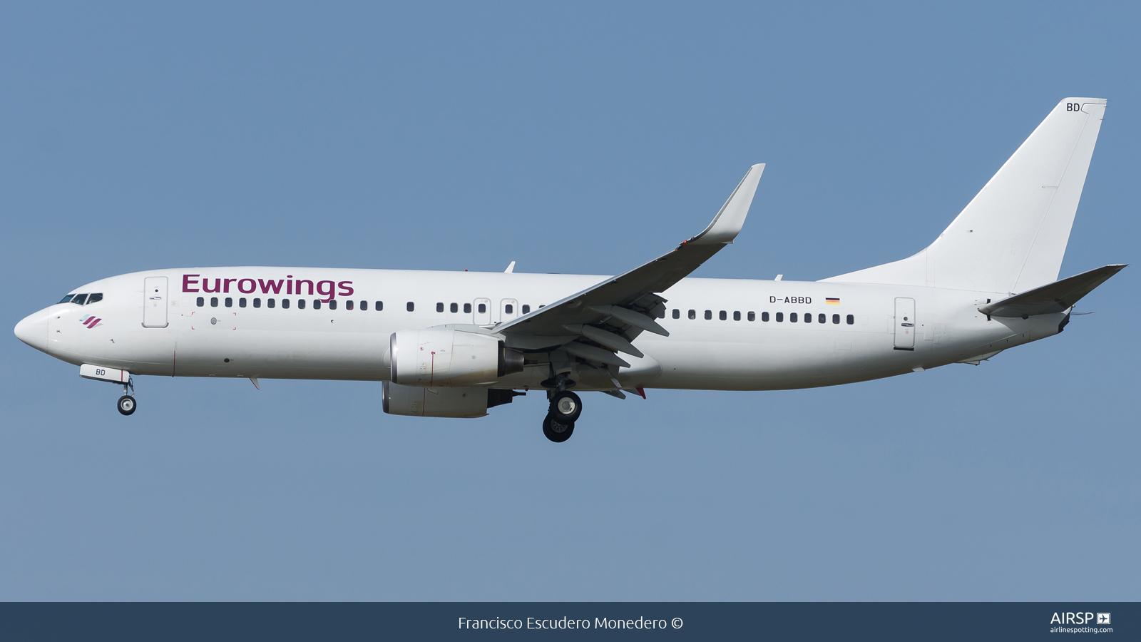 Eurowings  Boeing 737-800  D-ABBD