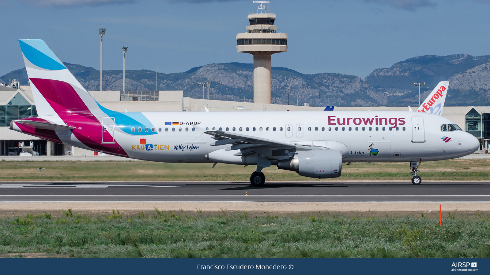 Eurowings  Airbus A320  D-ABDP