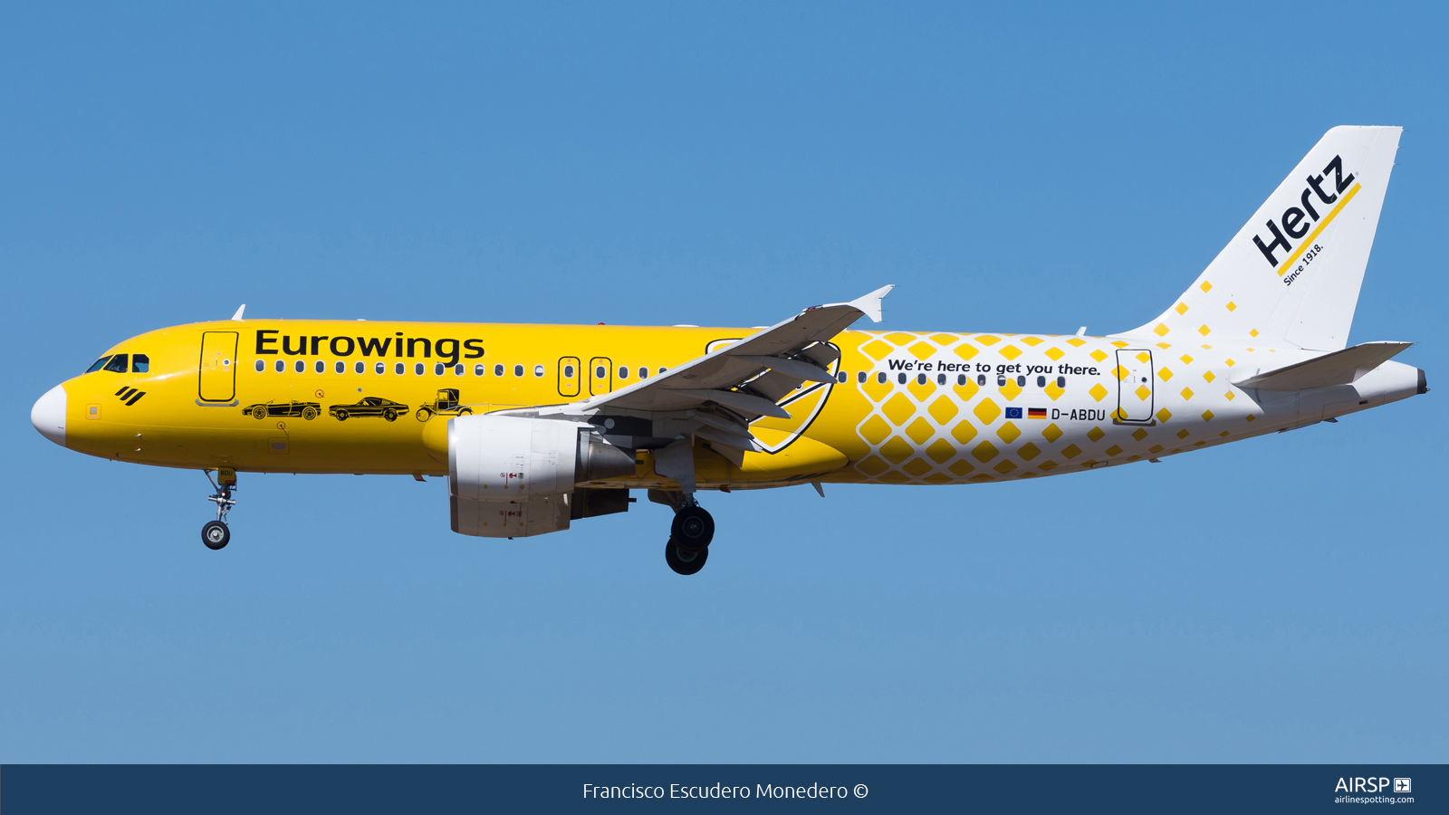 Eurowings  Airbus A320  D-ABDU