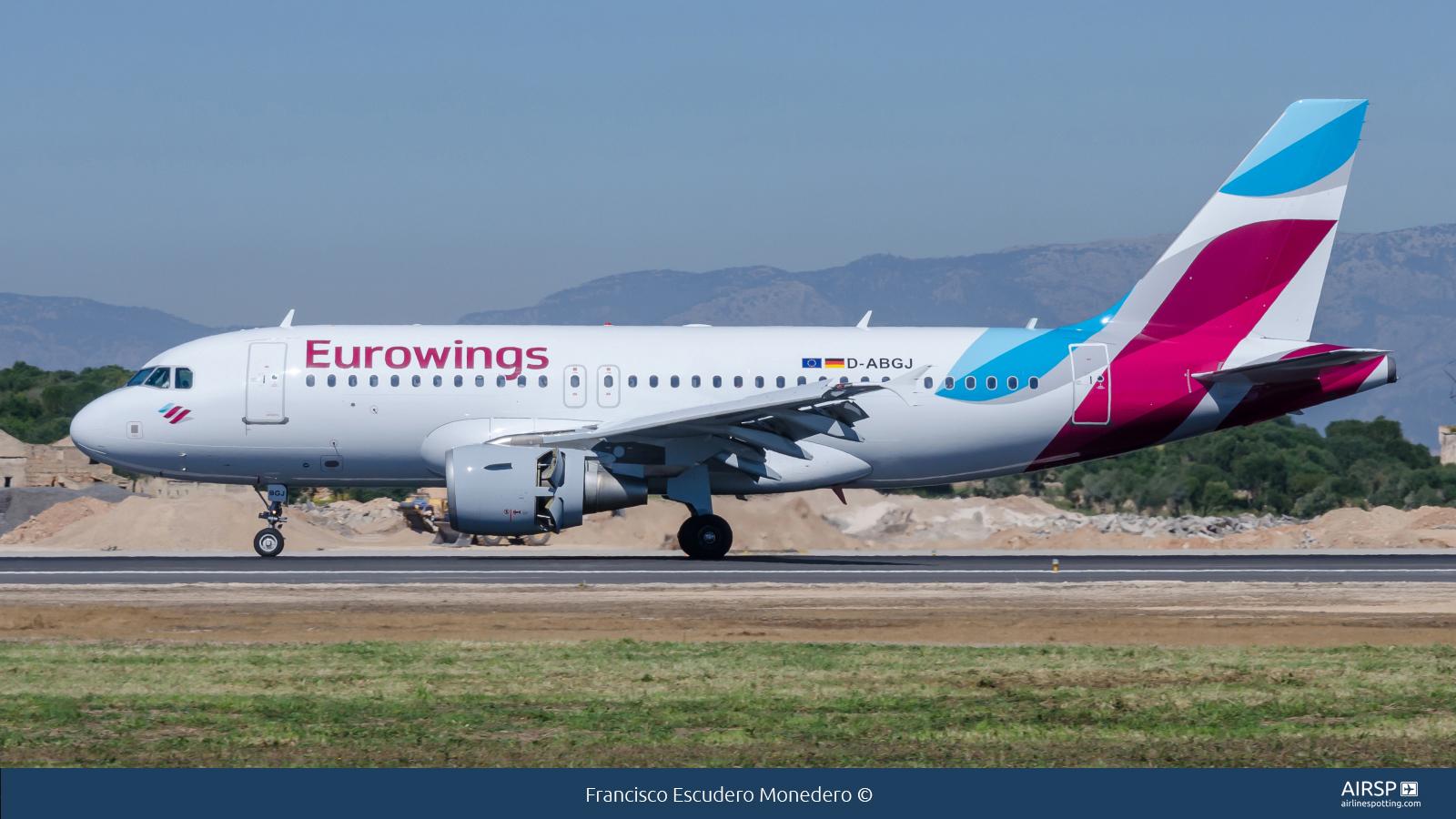 EurowingsAirbus A319D-ABGJ
