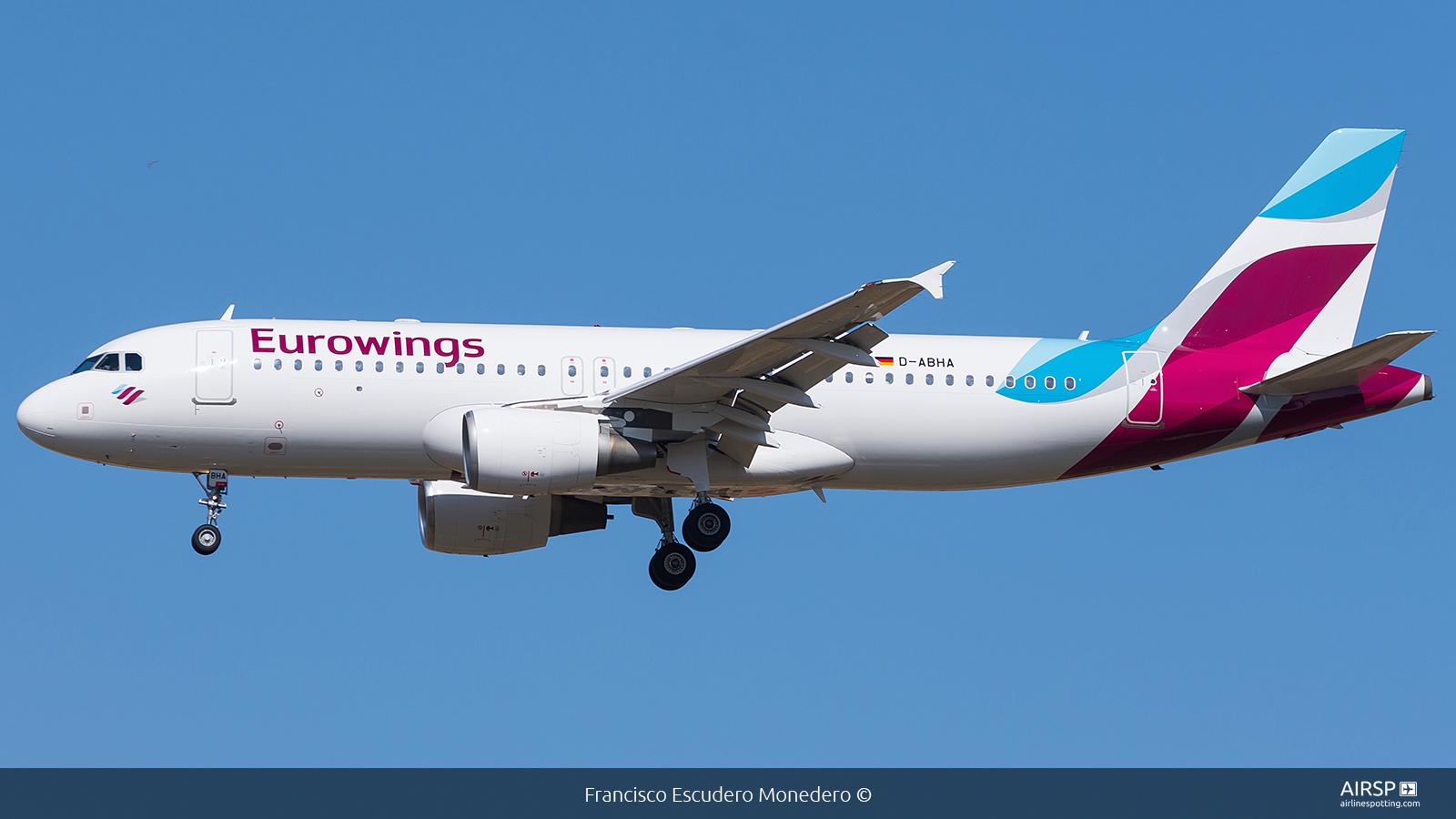 Eurowings  Airbus A320  D-ABHA