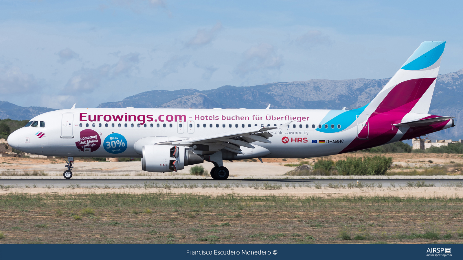 Eurowings  Airbus A320  D-ABHC