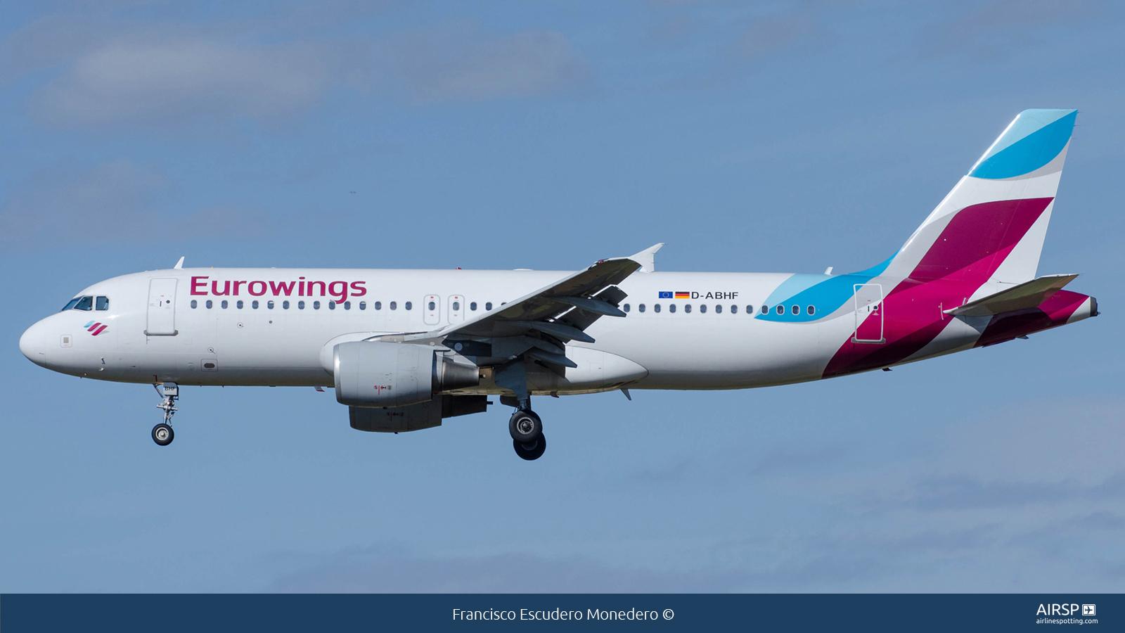 EurowingsAirbus A320D-ABHF