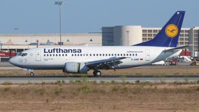 Lufthansa Boeing 737-500