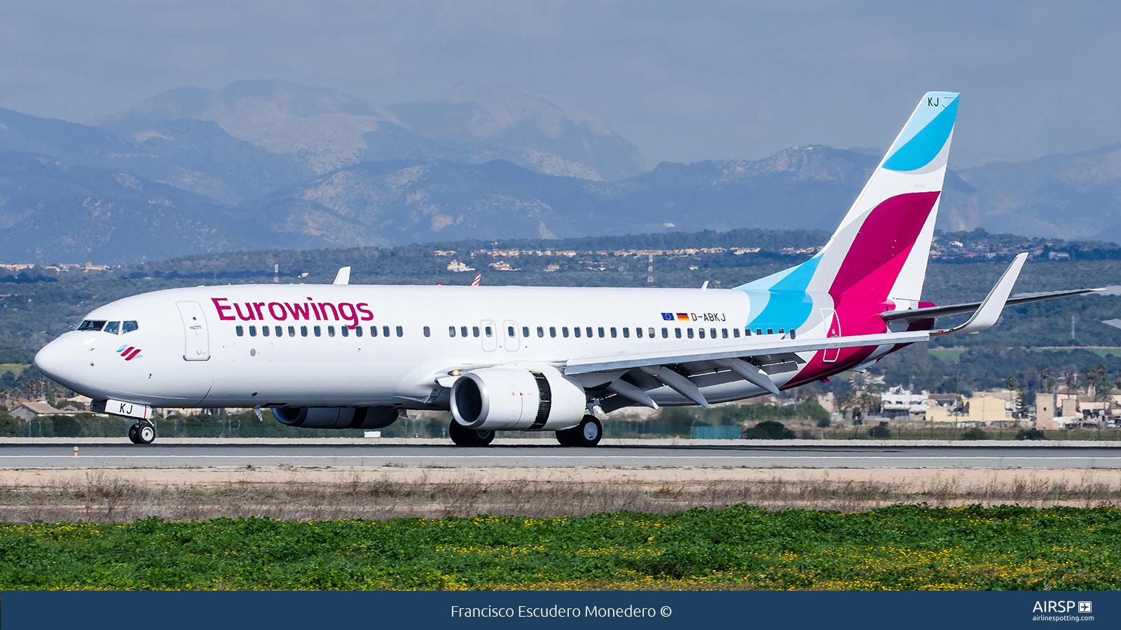 Eurowings  Boeing 737-800  D-ABKJ