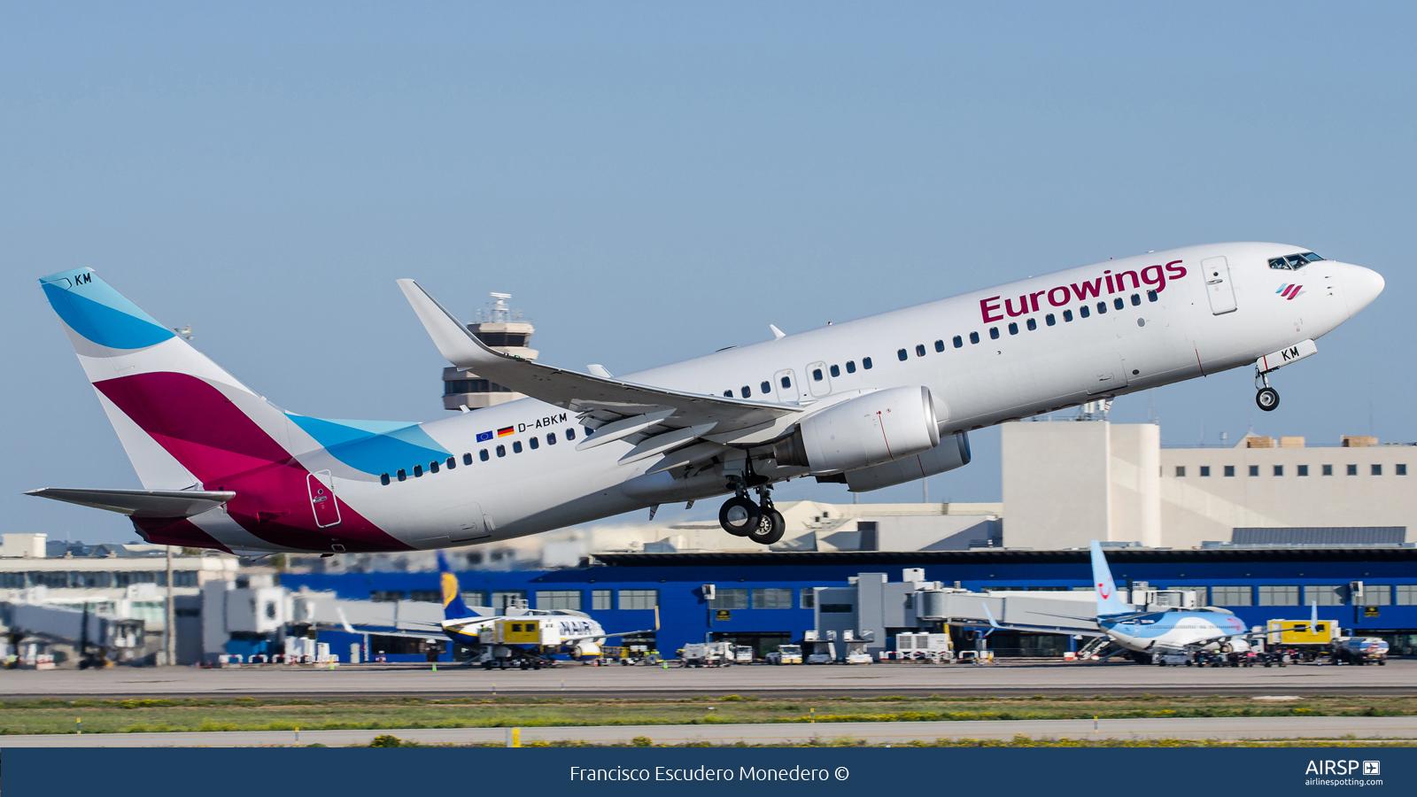 EurowingsBoeing 737-800D-ABKM