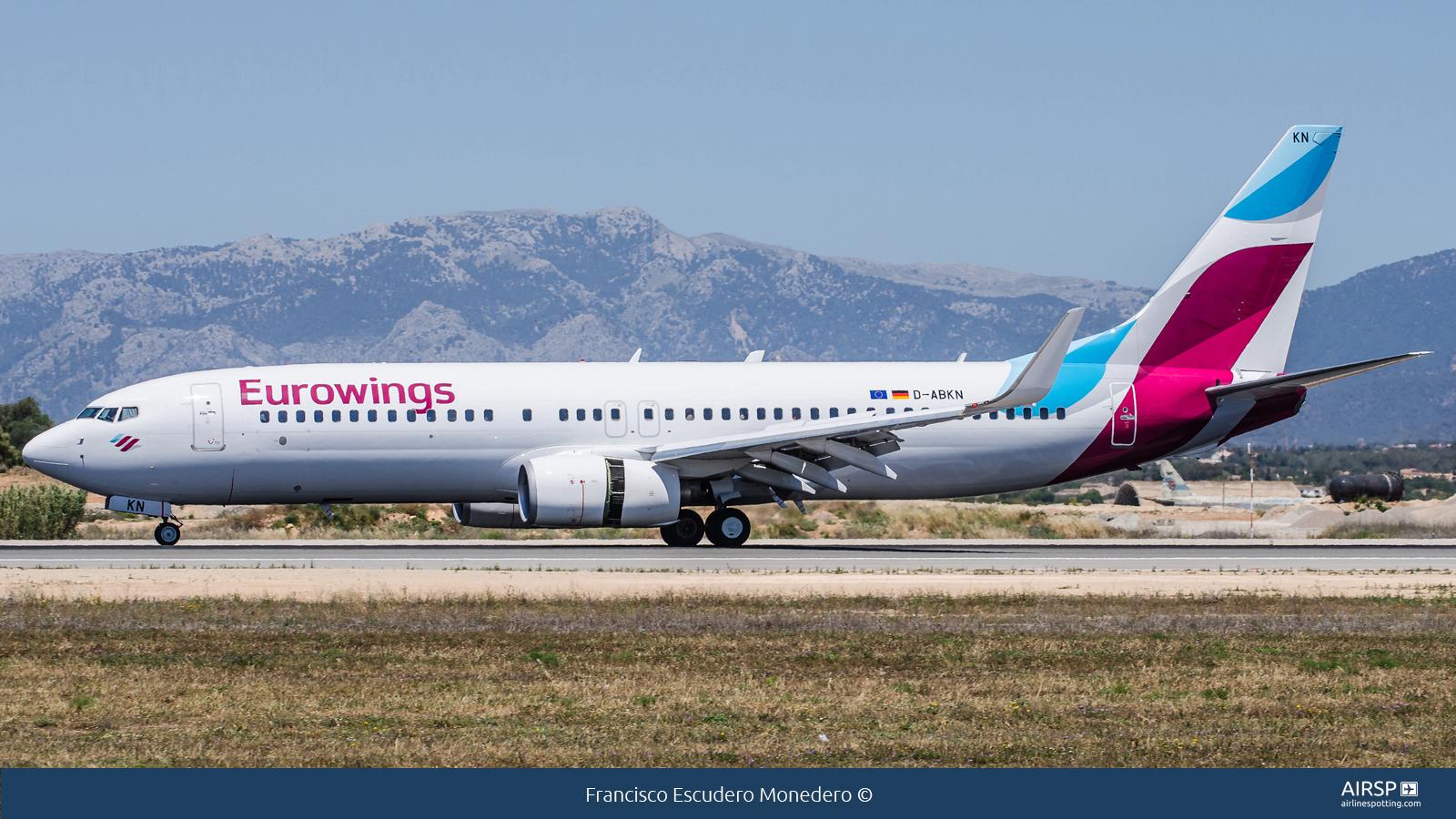 Eurowings  Boeing 737-800  D-ABKN