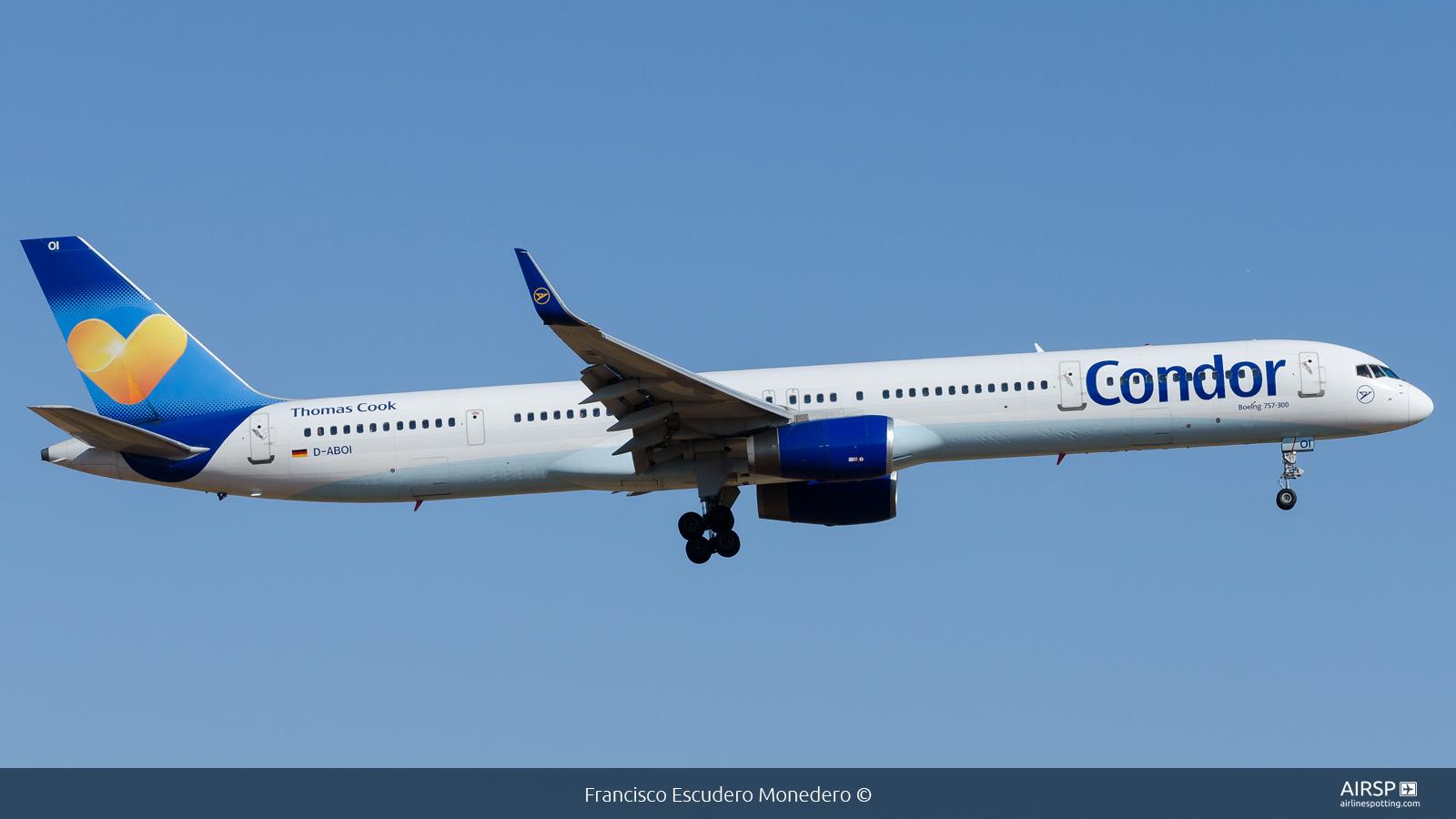 Condor  Boeing 757-300  D-ABOI