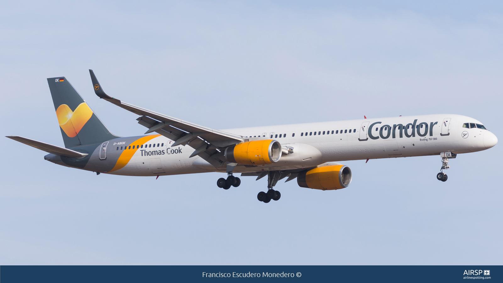 Condor  Boeing 757-300  D-ABOK