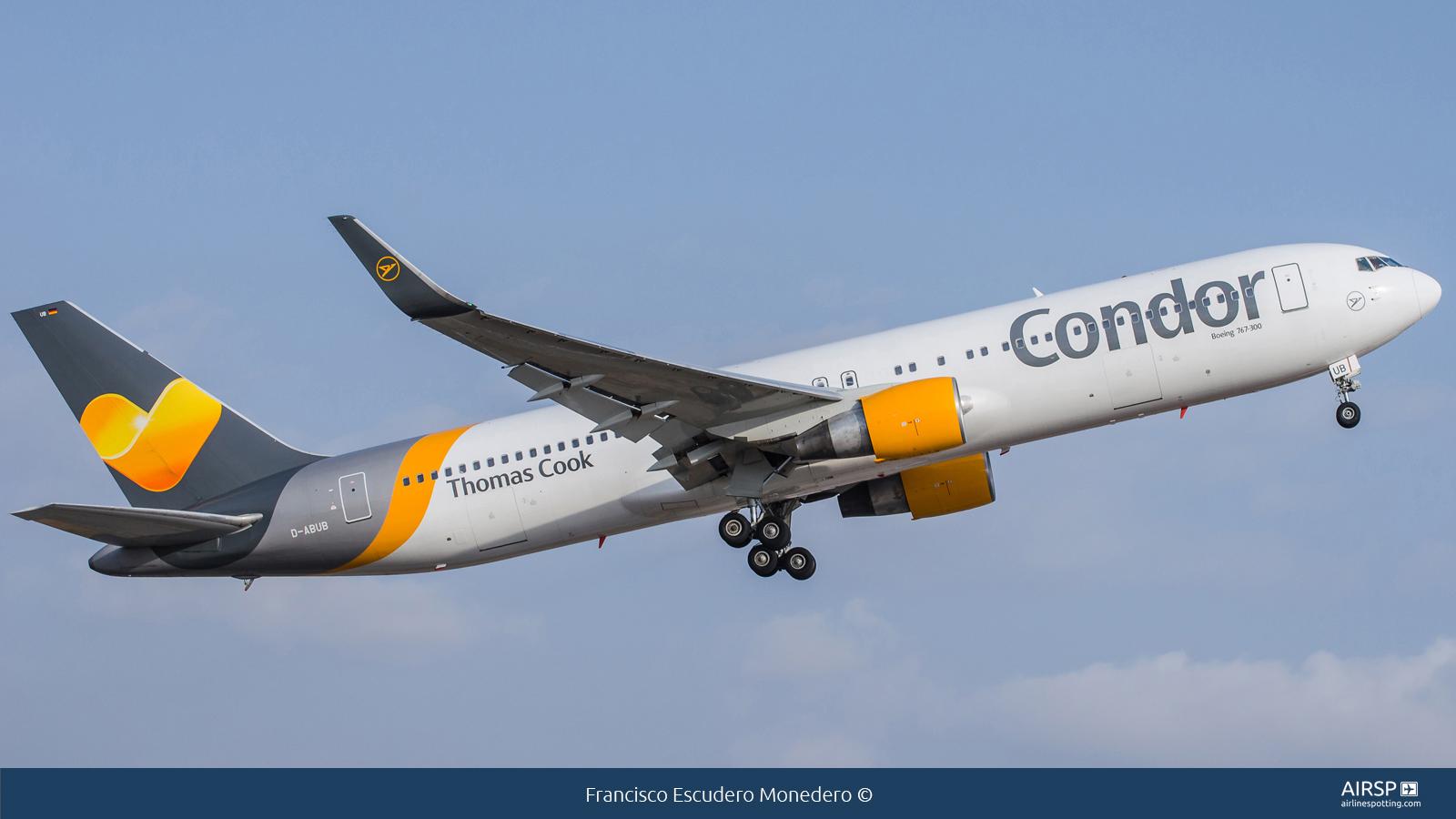 Condor  Boeing 767-300  D-ABUB