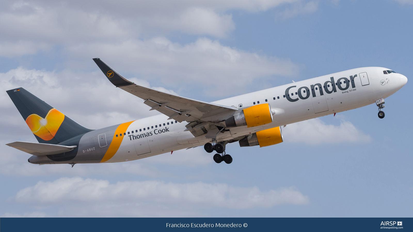 Condor  Boeing 767-300  D-ABUZ