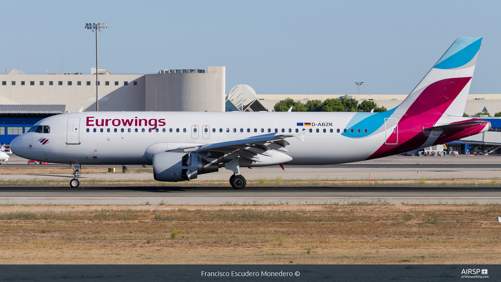 Eurowings  Airbus A320  D-ABZK
