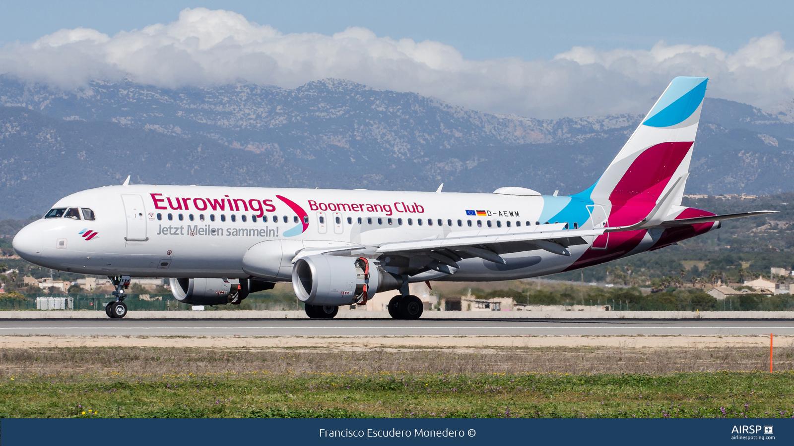 Eurowings  Airbus A320  D-AEWM