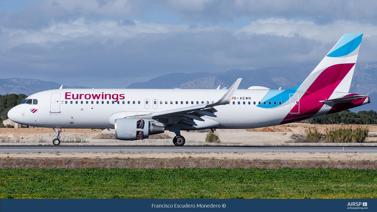 EurowingsAirbus A320D-AEWN