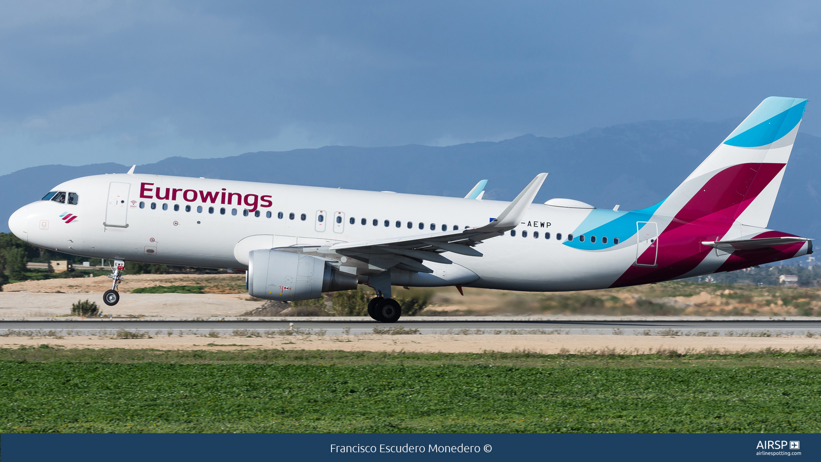 Eurowings  Airbus A320  D-AEWP