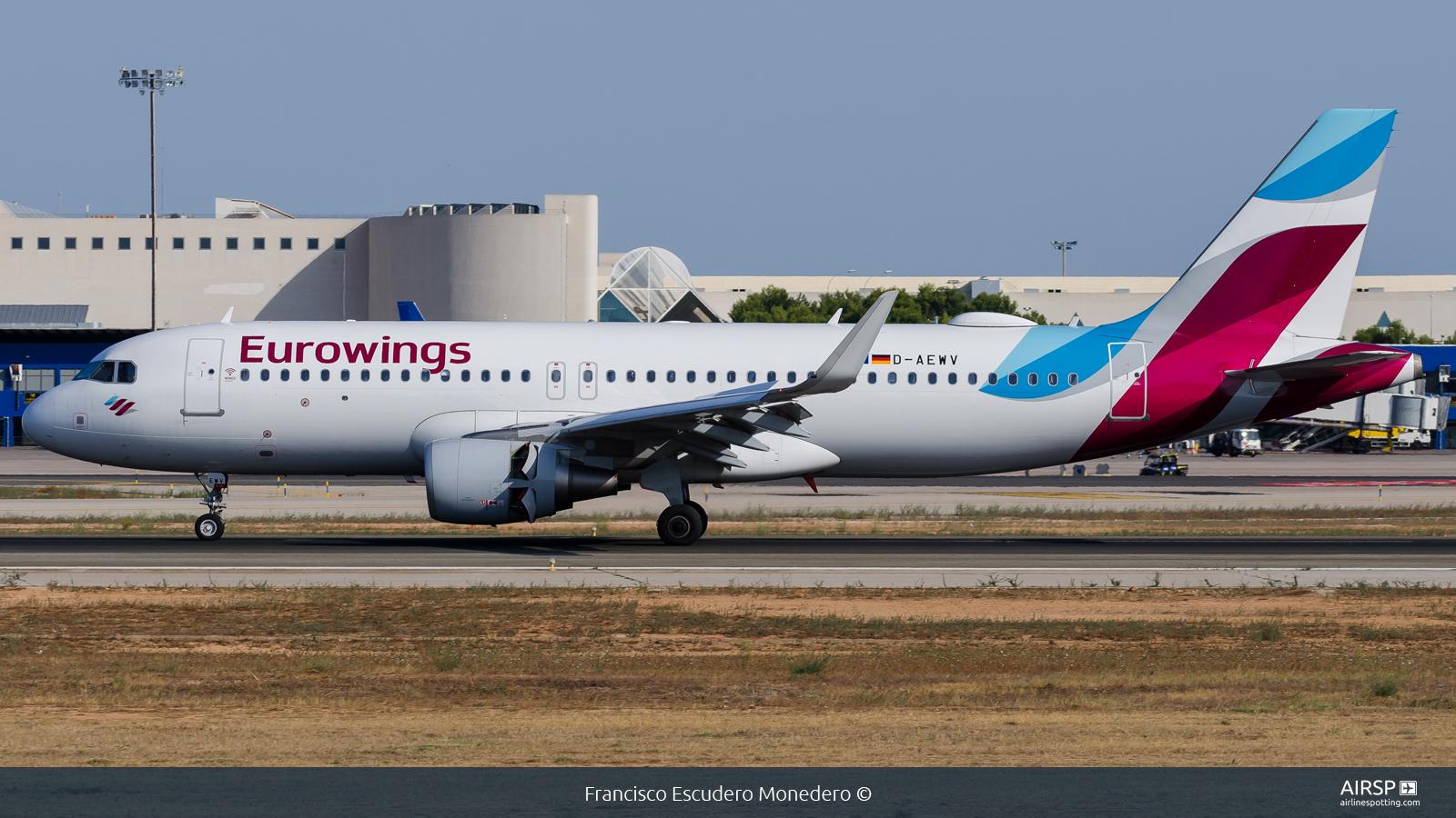 Eurowings  Airbus A320  D-AEWV
