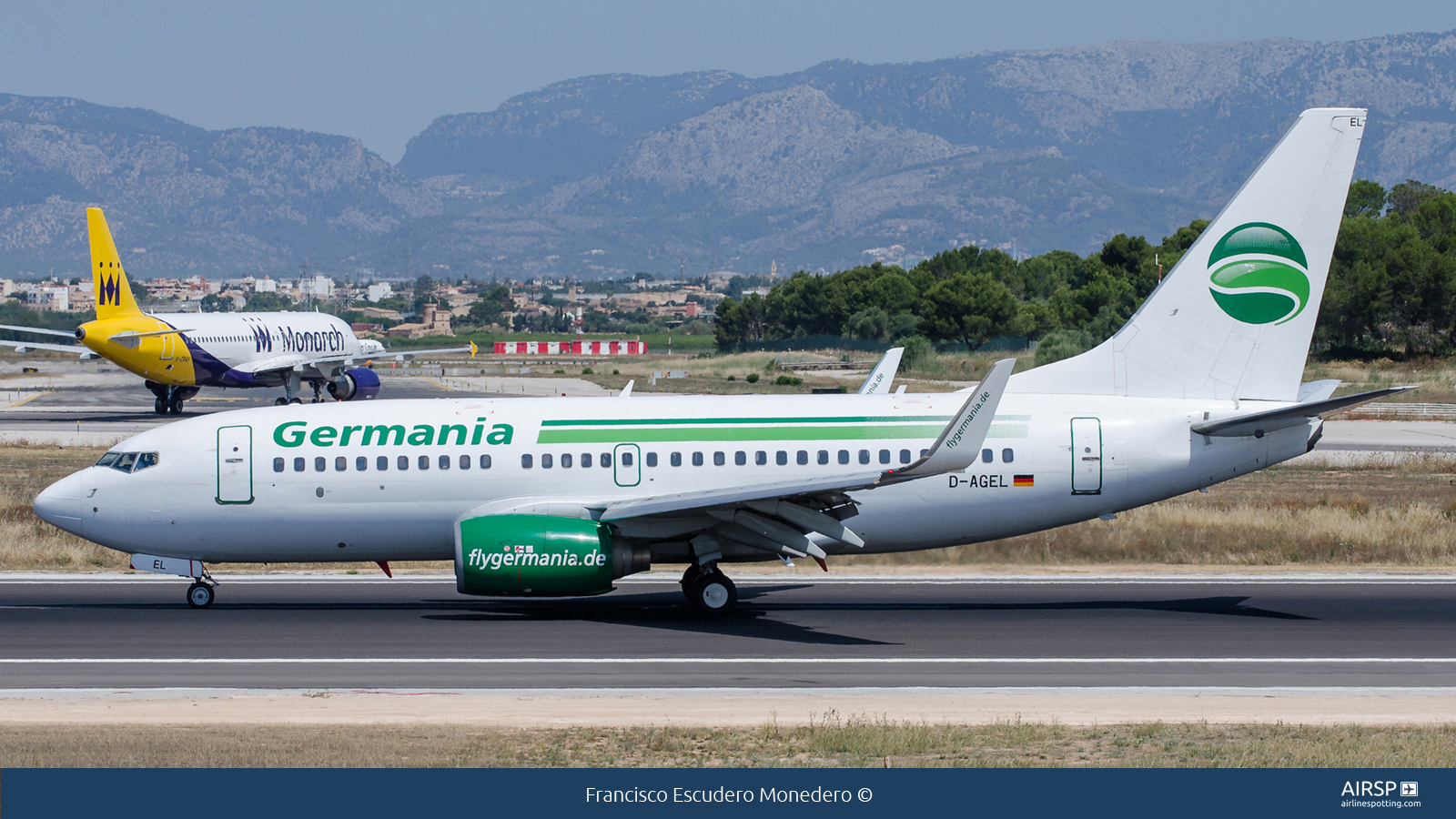 Germania  Boeing 737-700  D-AGEL