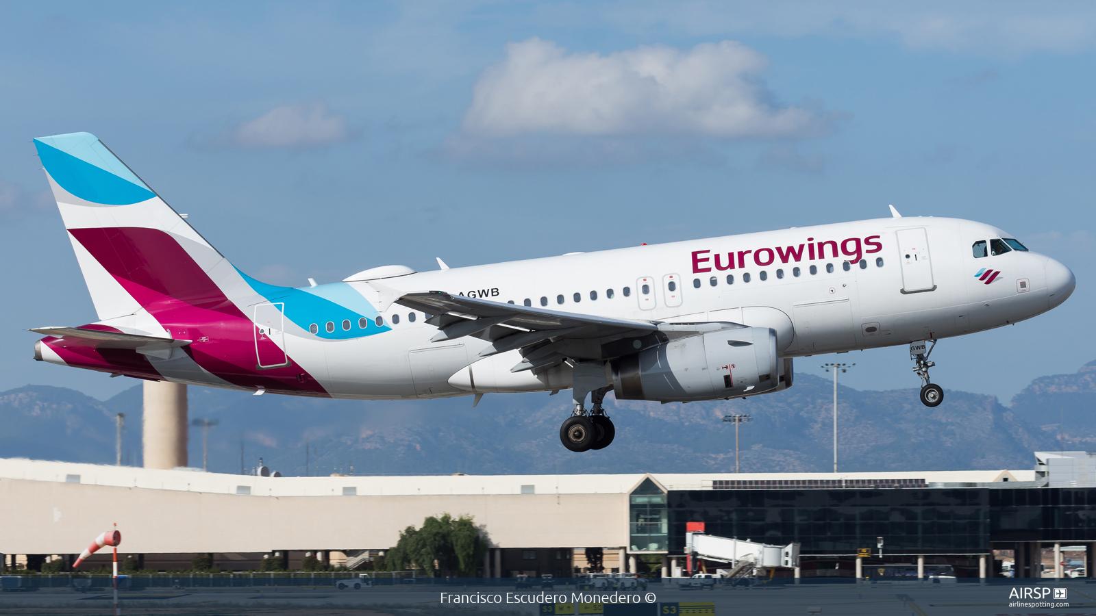 Eurowings  Airbus A319  D-AGWB