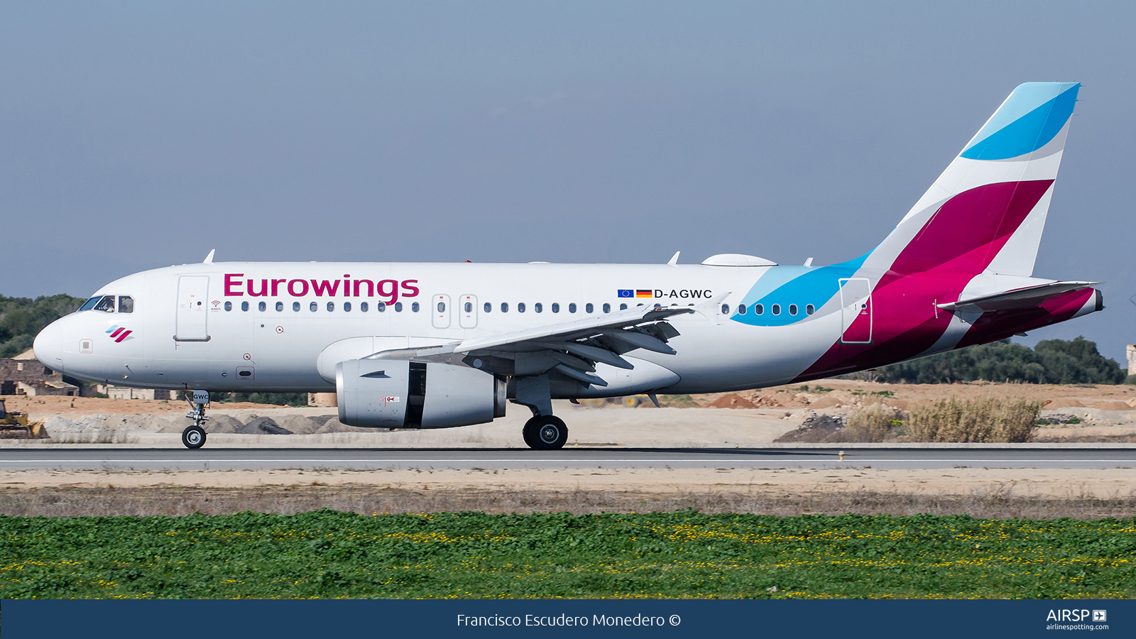 Eurowings  Airbus A319  D-AGWC