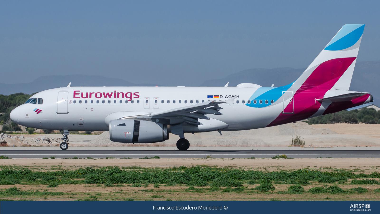 EurowingsAirbus A319D-AGWH
