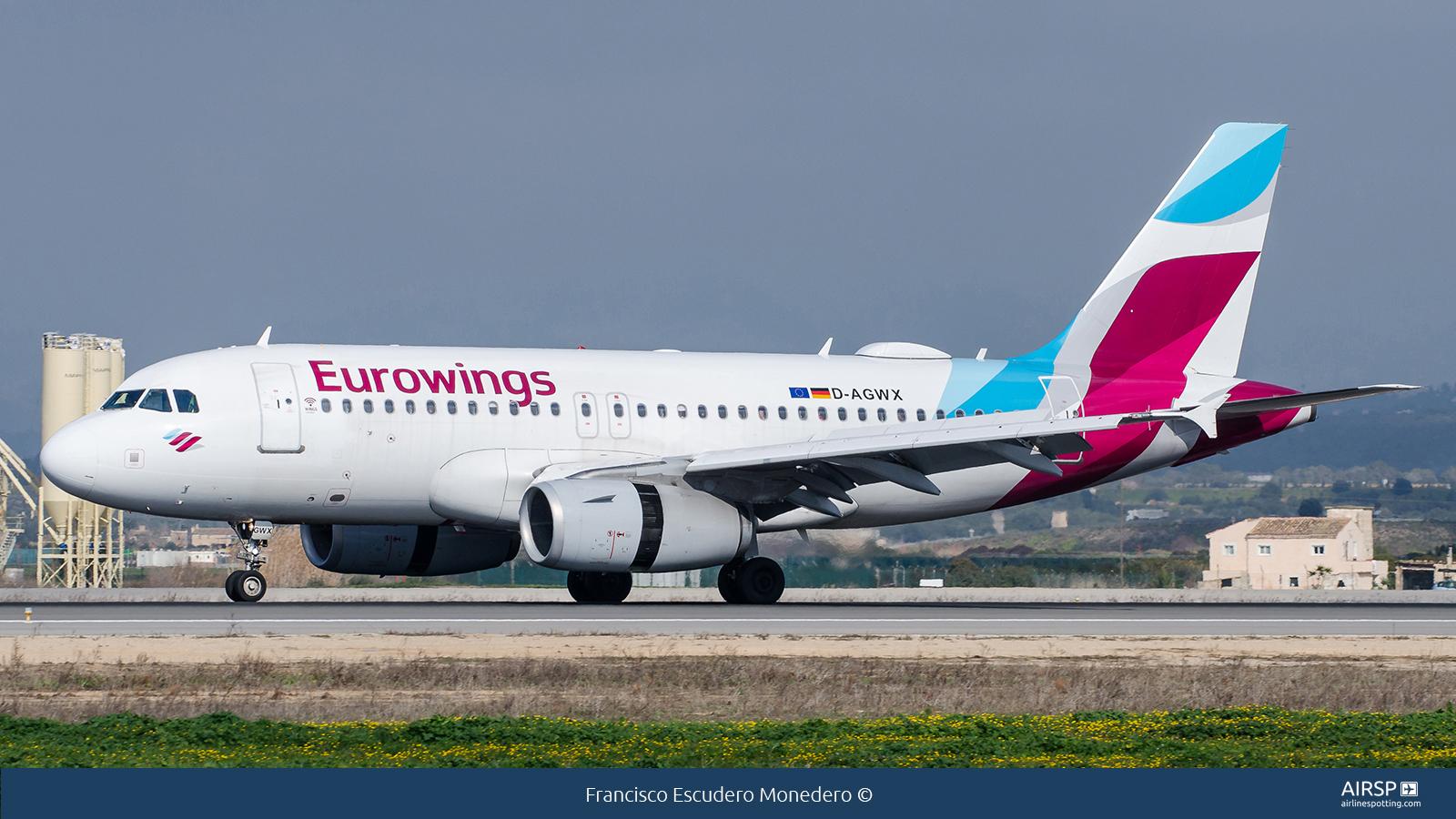 Eurowings  Airbus A319  D-AGWX