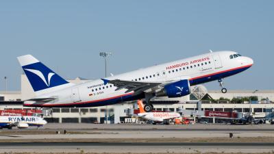 Hamburg Airways Airbus A319