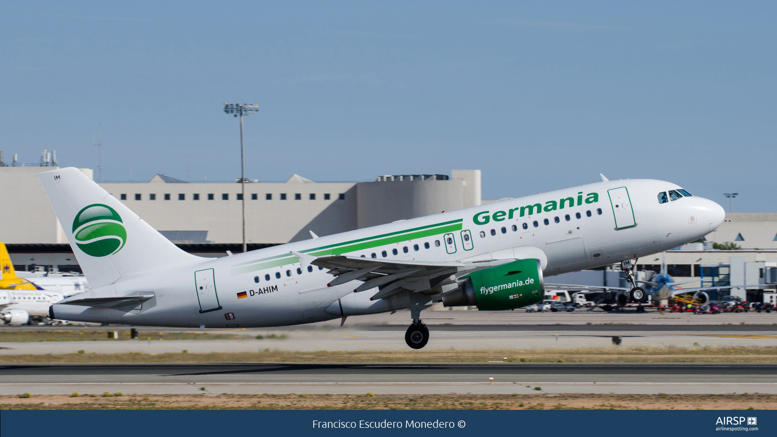 Germania  Airbus A319  D-AHIM