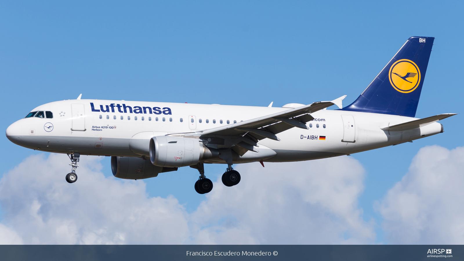 Lufthansa  Airbus A319  D-AIBH