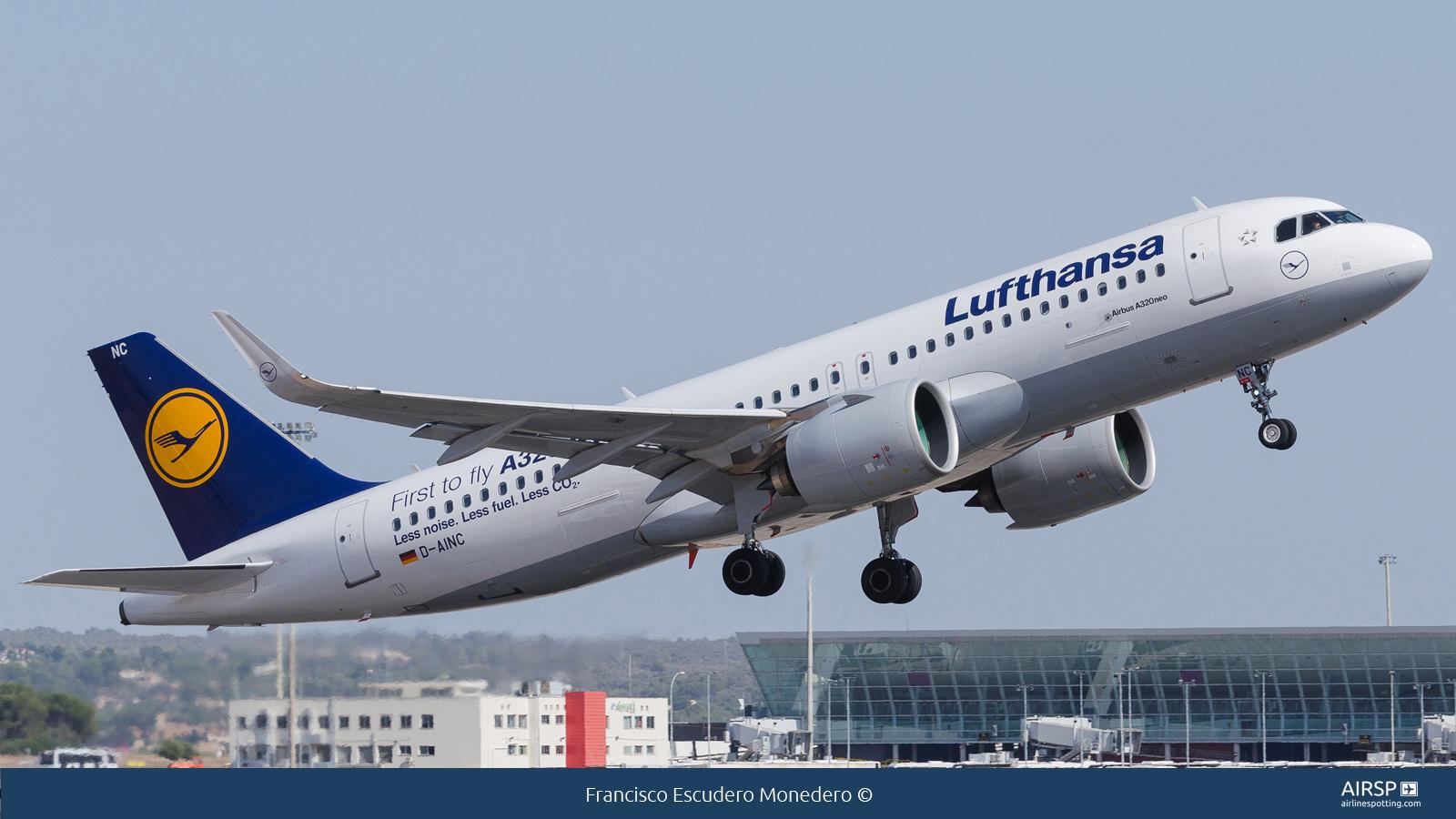 Lufthansa  Airbus A320neo  D-AINC