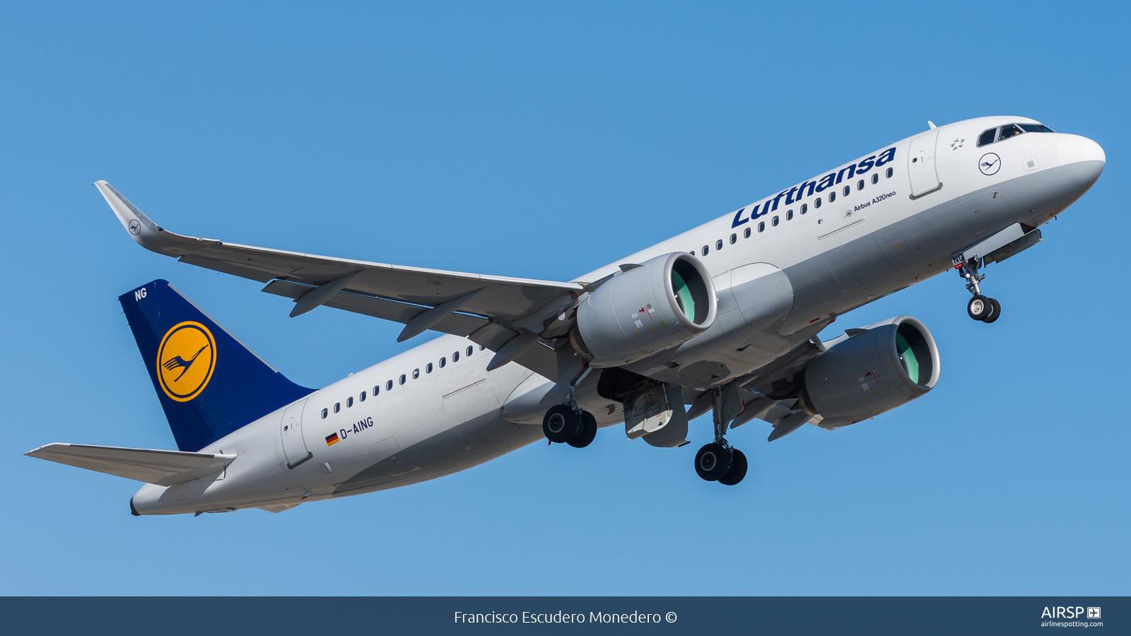 Lufthansa  Airbus A320neo  D-AING