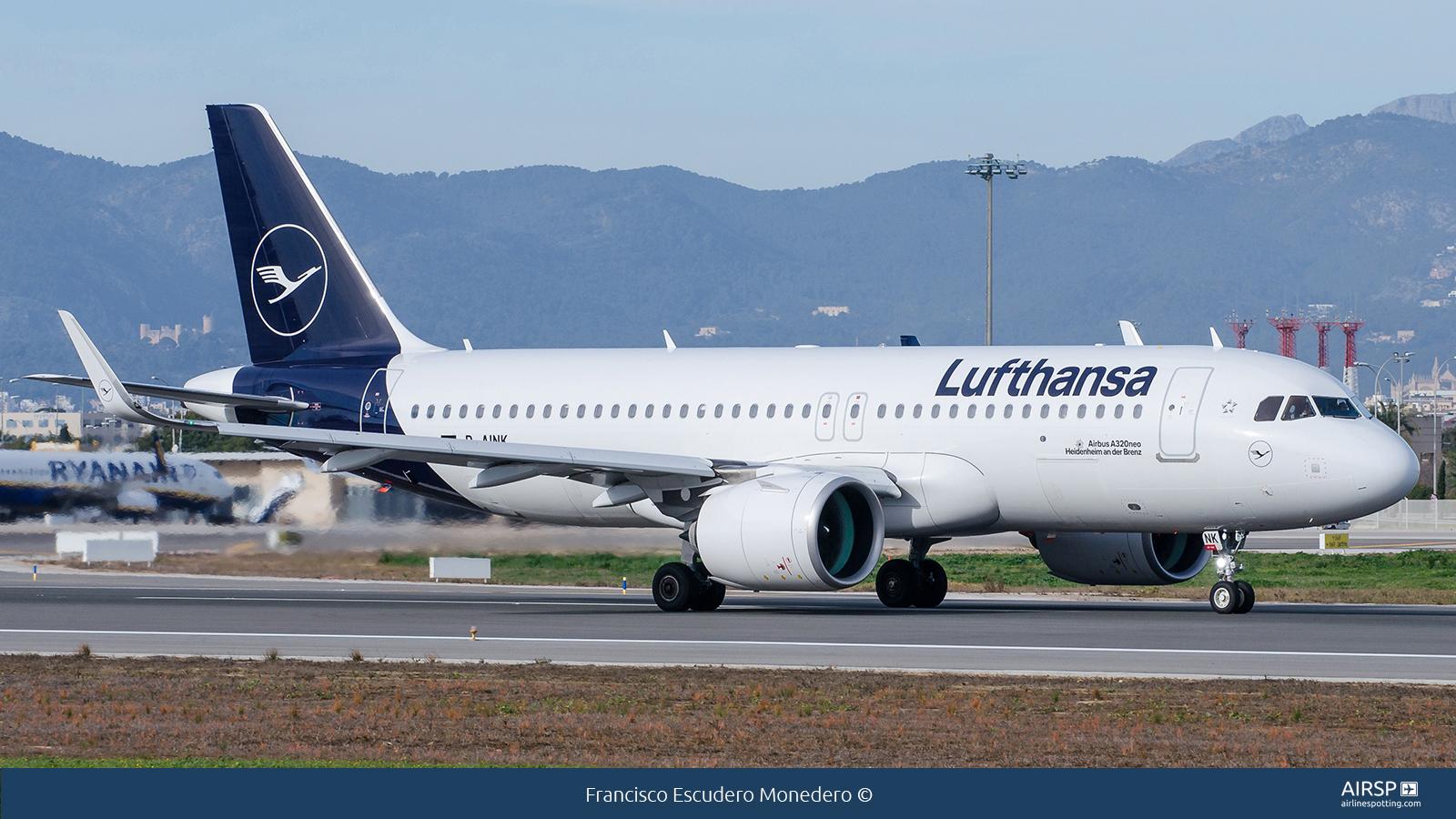 Lufthansa  Airbus A320neo  D-AINK