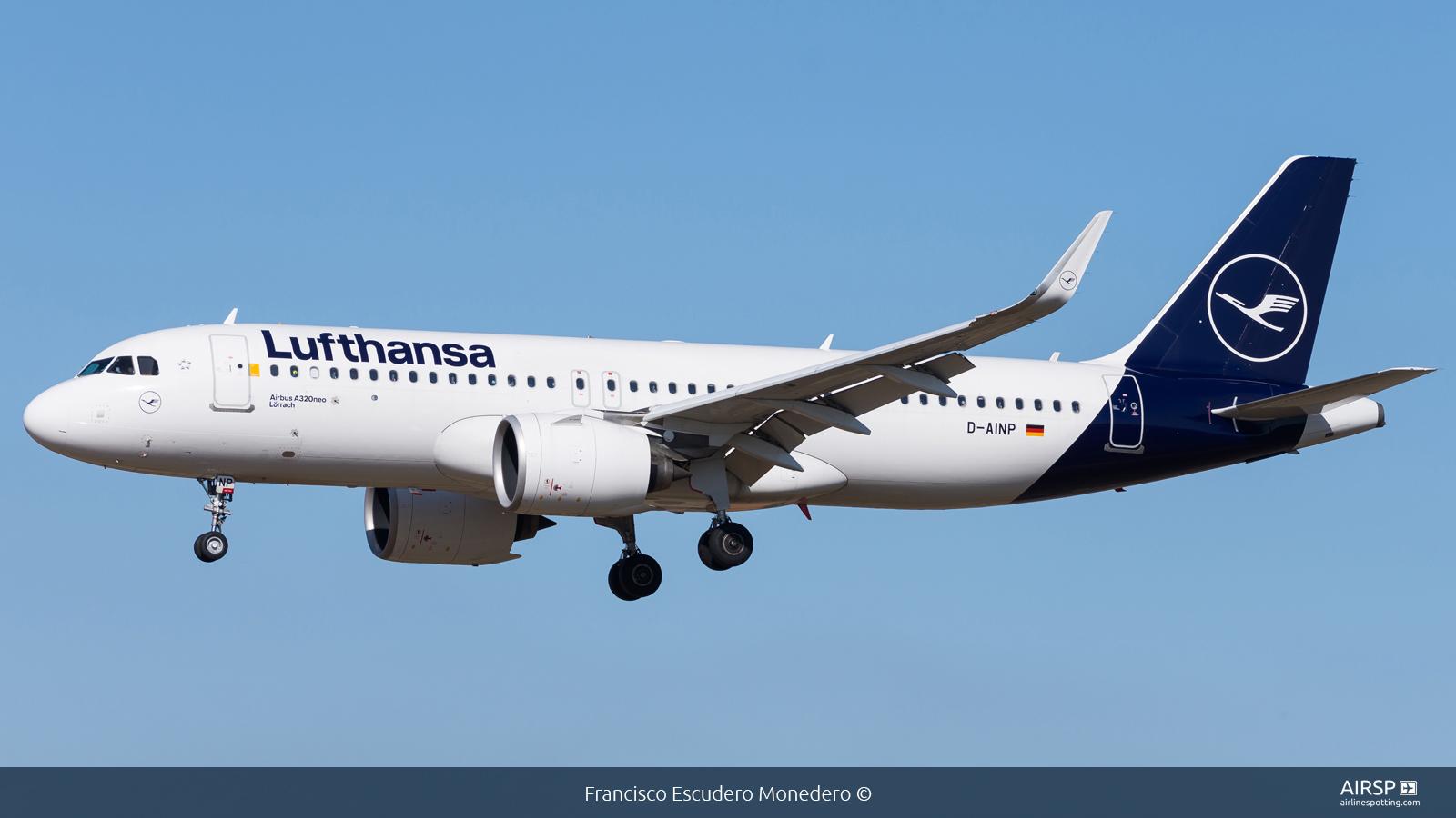 Lufthansa  Airbus A320neo  D-AINP