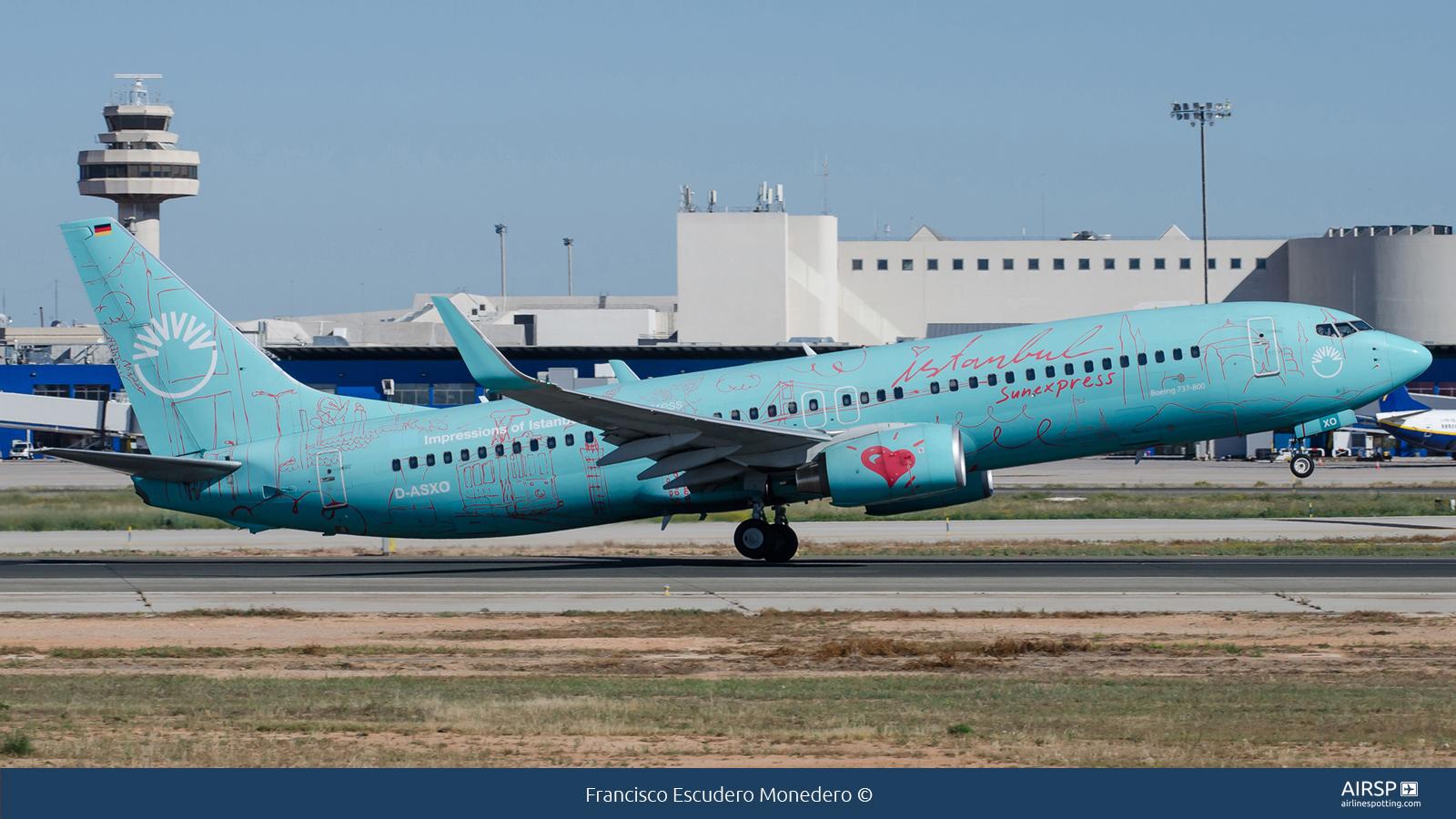 Sun ExpressBoeing 737-800D-ASXO