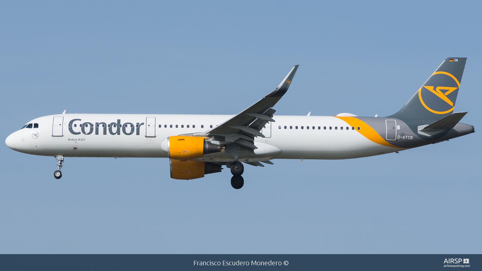 Condor  Airbus A321  D-ATCB