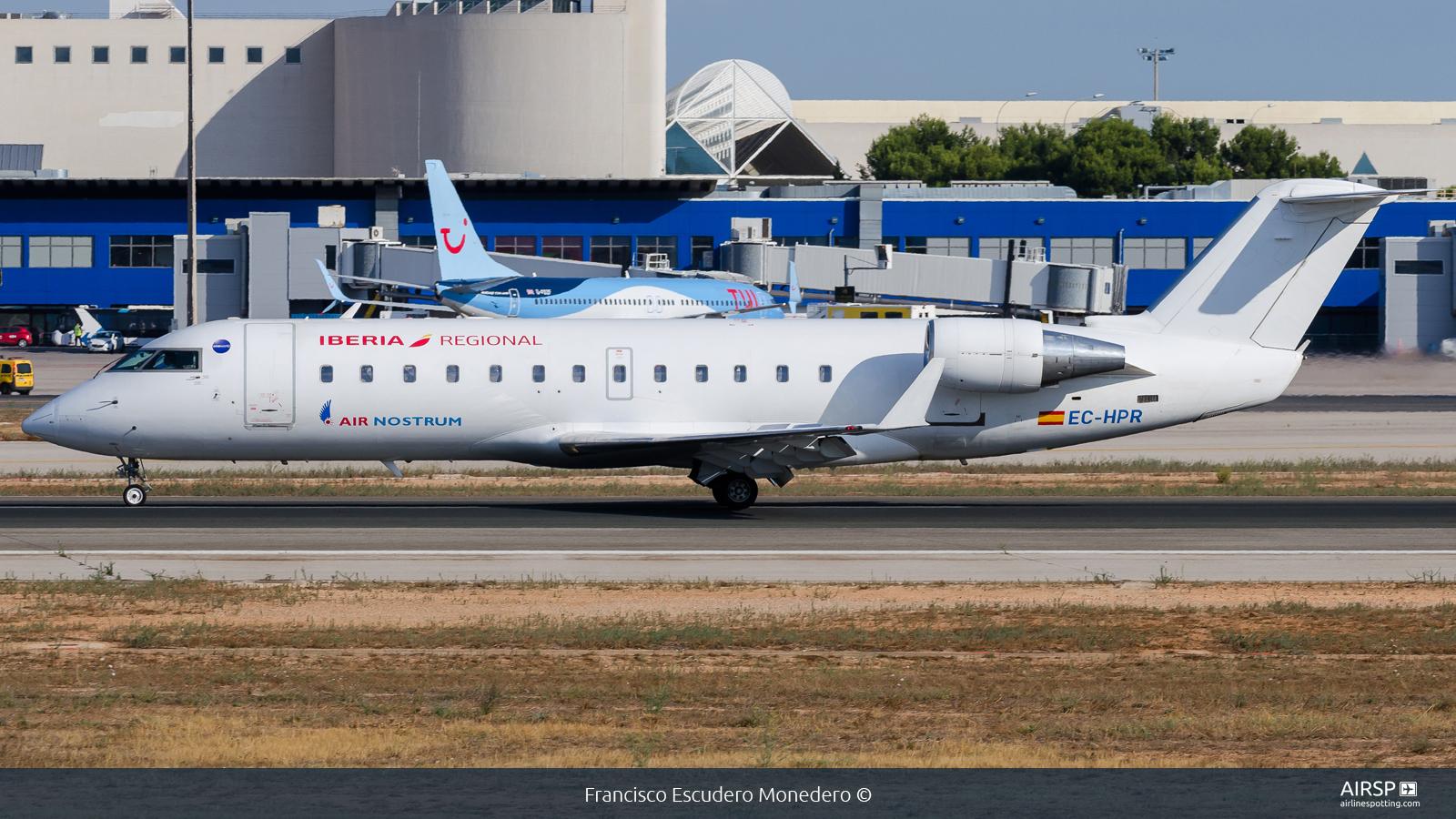 Air Nostrum Iberia Regional  Mitsubishi CRJ-200  EC-HPR
