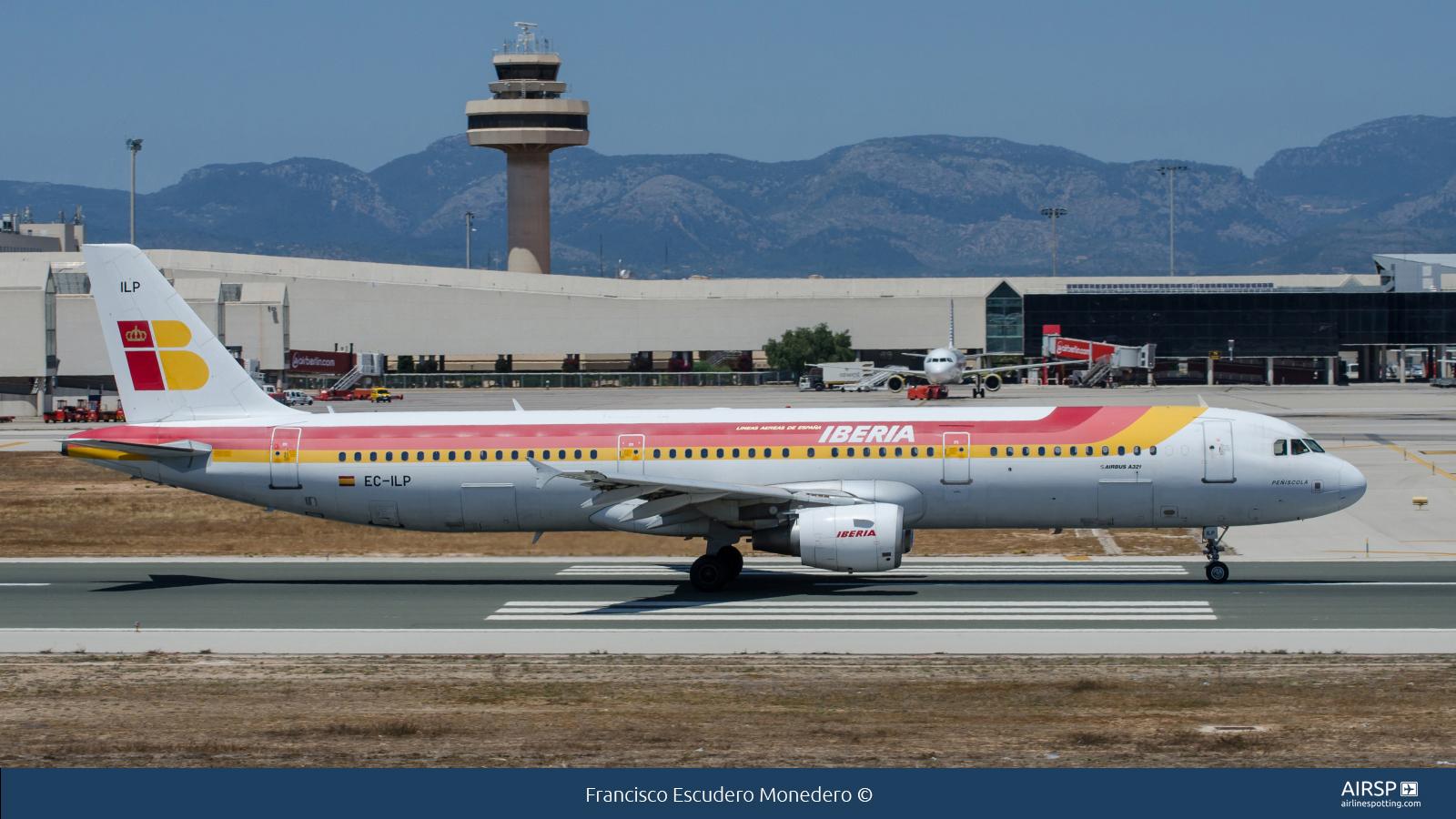 IberiaAirbus A321EC-ILP