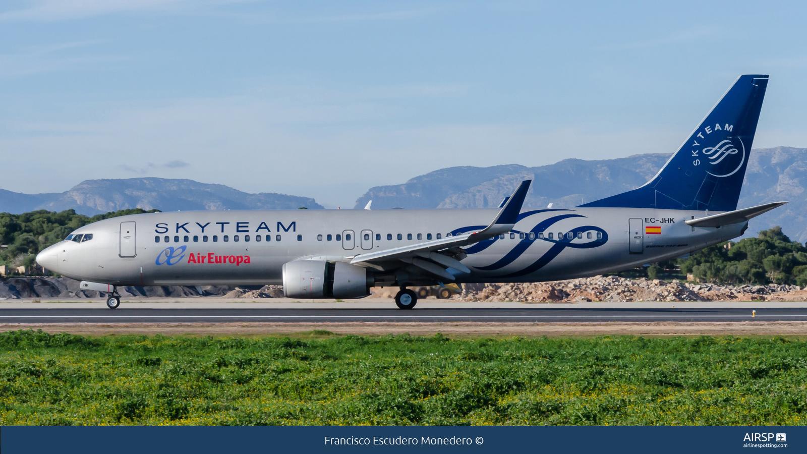 Air EuropaBoeing 737-800EC-JHK
