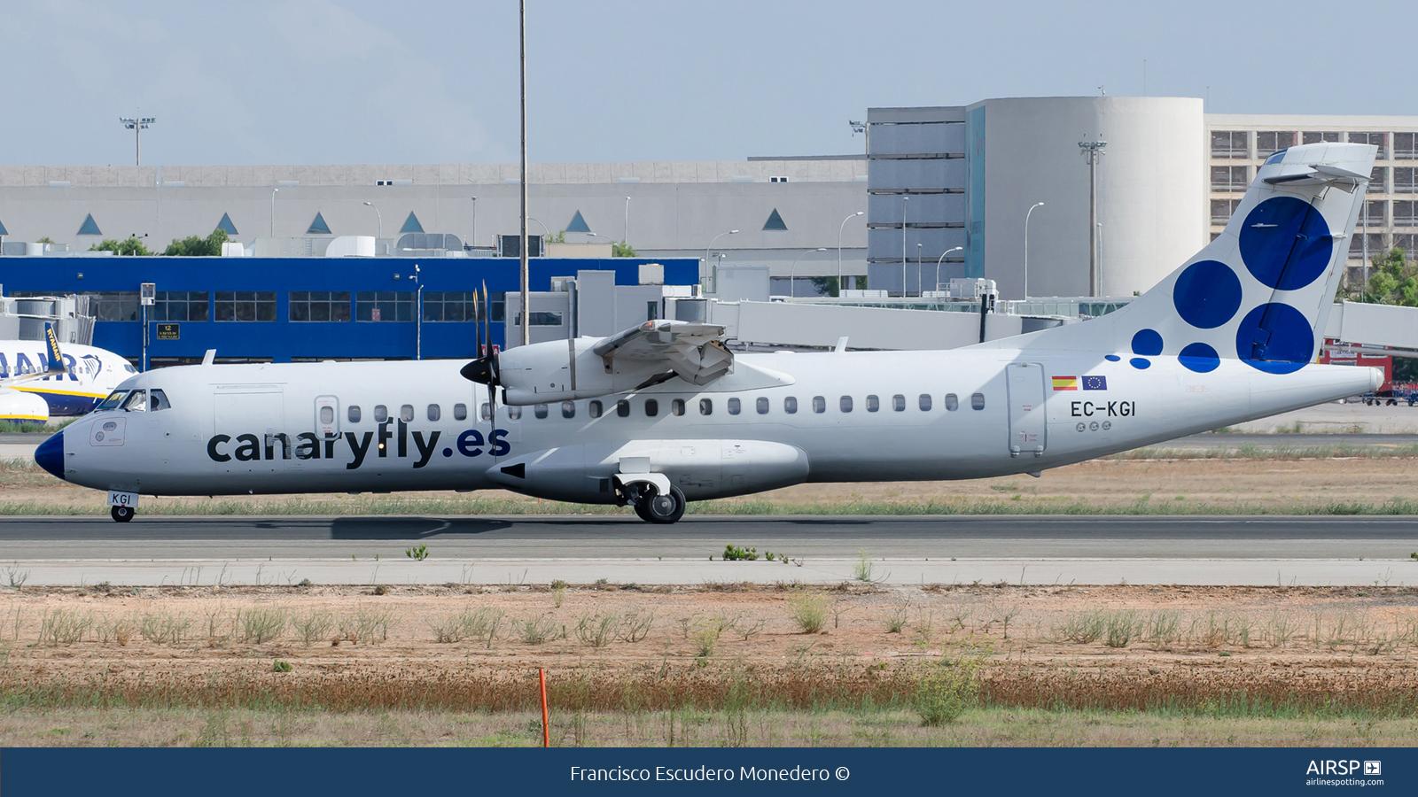 Canary Fly  ATR-72  EC-KGI