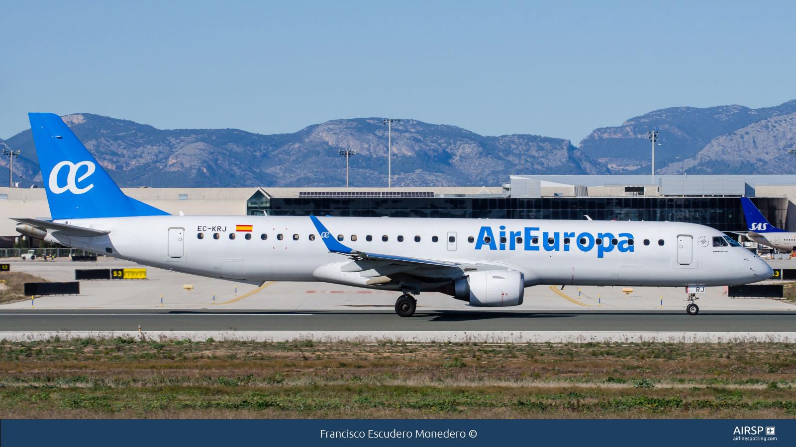 Air Europa  Embraer E195  EC-KRJ