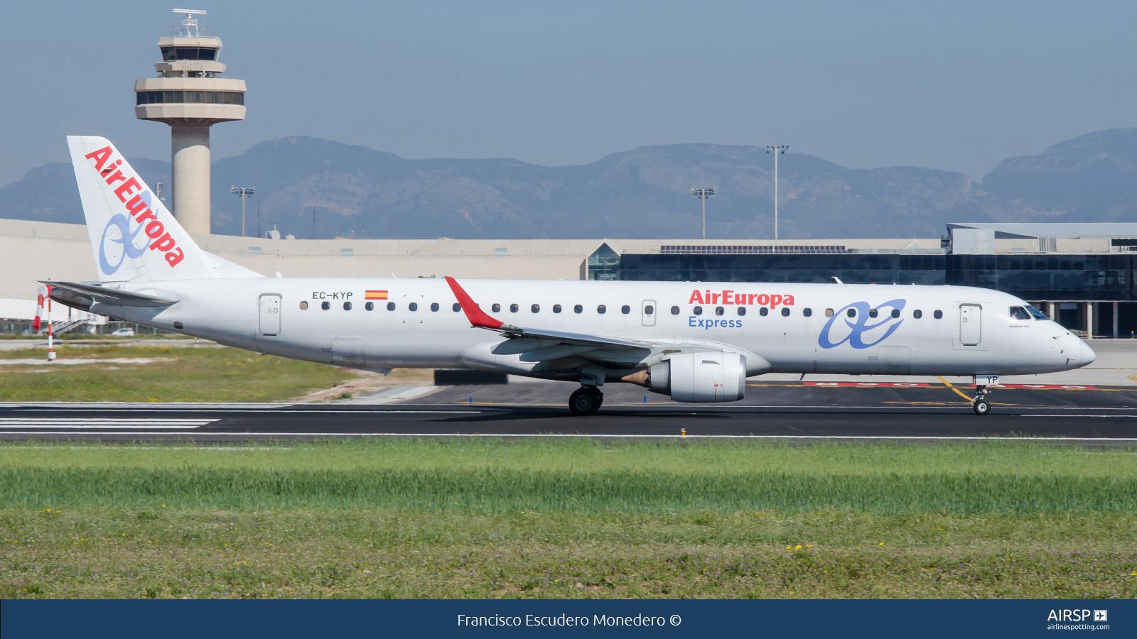 Air Europa Express  Embraer E195  EC-KYP