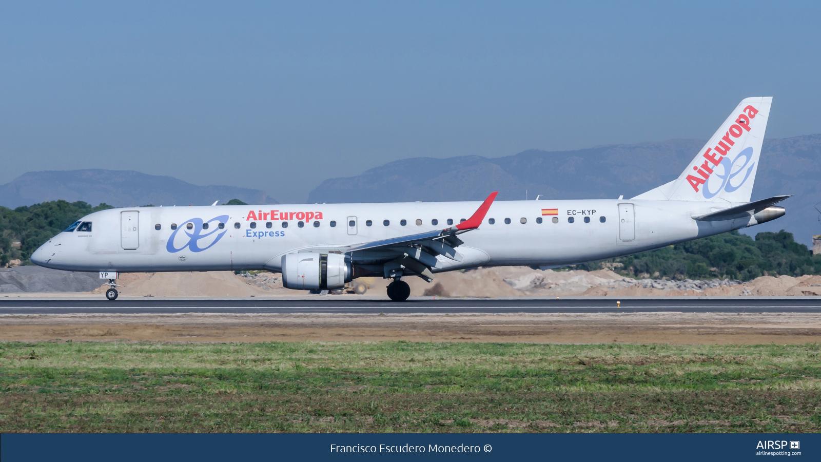 Air Europa Express  Embraer ERJ-195  EC-KYP
