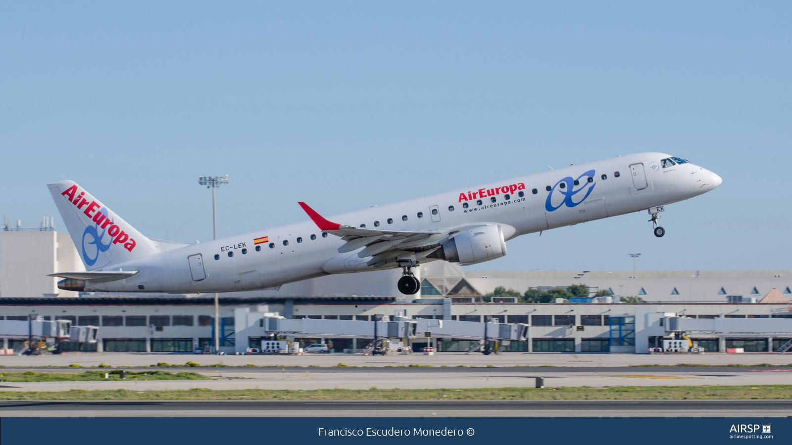 Air Europa  Embraer E195  EC-LEK